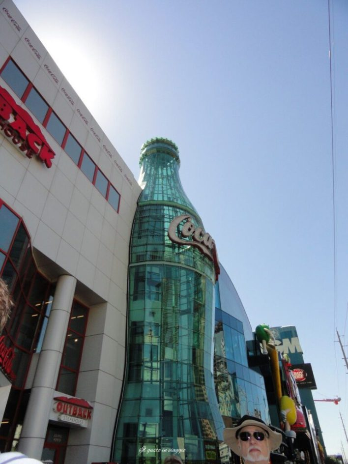 coca cola world las vegas strip