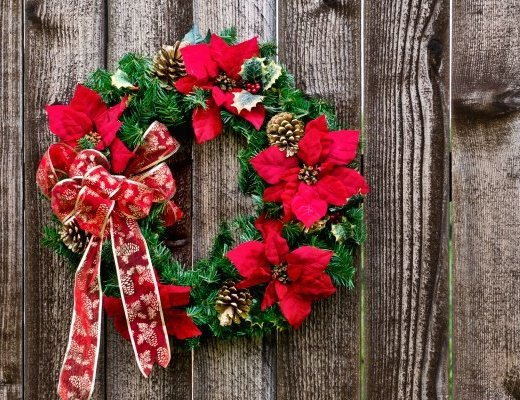 christmas flower wreath 8 dicembre buon 8 dicembre