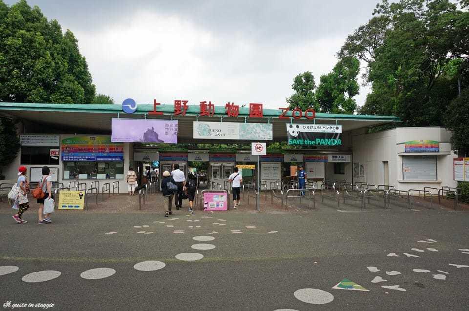 ingresso ueno zoo tokyo