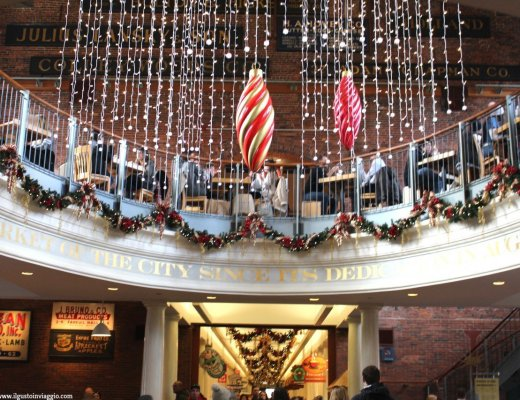 natale a boston,cosa comprare al quincy market, boston, quincy market