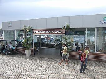 Estação Santa Luzia, centro de Angra dos Reis