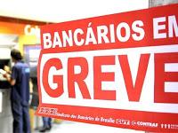 População sofre com a greve dos bancos