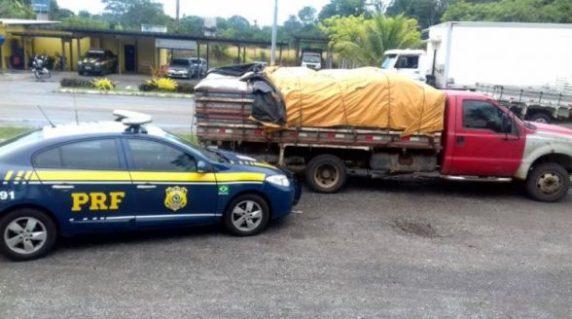 Caminhão é apreendido com toneladas de grãos sem nota fiscal em Itabuna 7