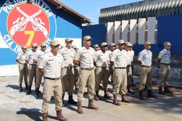 Novos policiais se apresentam e reforçam efetivo da PM na região 4