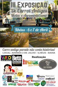 Ilhéus recebe exposição de veículos antigos na Avenida Dois de Julho 1