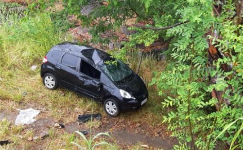 Conquistenses sofrem acidente próximo a Itabuna; carro capotou 8