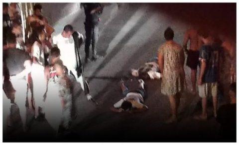 ITABUNA: Um é morto e sete ficam feridos após motociclistas atacarem grupo 7