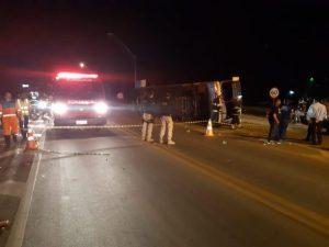 Polícia divulga detalhes de acidente com ônibus da Novo Horizonte que saiu de Ilhéus e tombou; 3 vítimas tiveram lesões 8