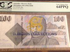 Australia 100 Dollars 1984