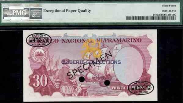 Portuguese India 30 escudos2