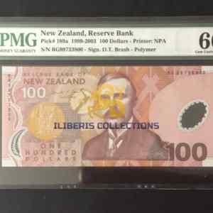 New Zealand 100 Dollars 1999
