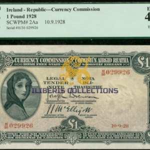 Ireland one Pound 1928
