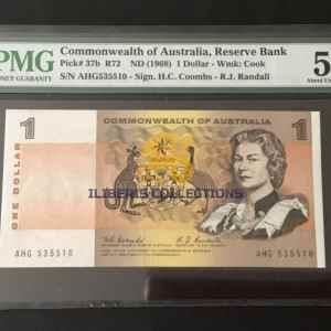 Australia 1 Dollar 1968