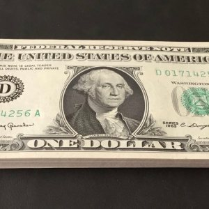 United States 1 dollar 1963