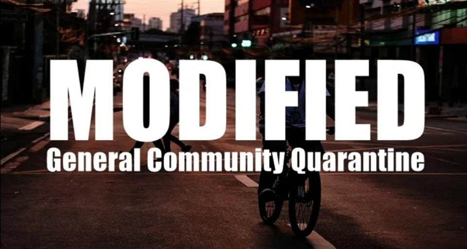 Modified General Community Quarantine Guidelines