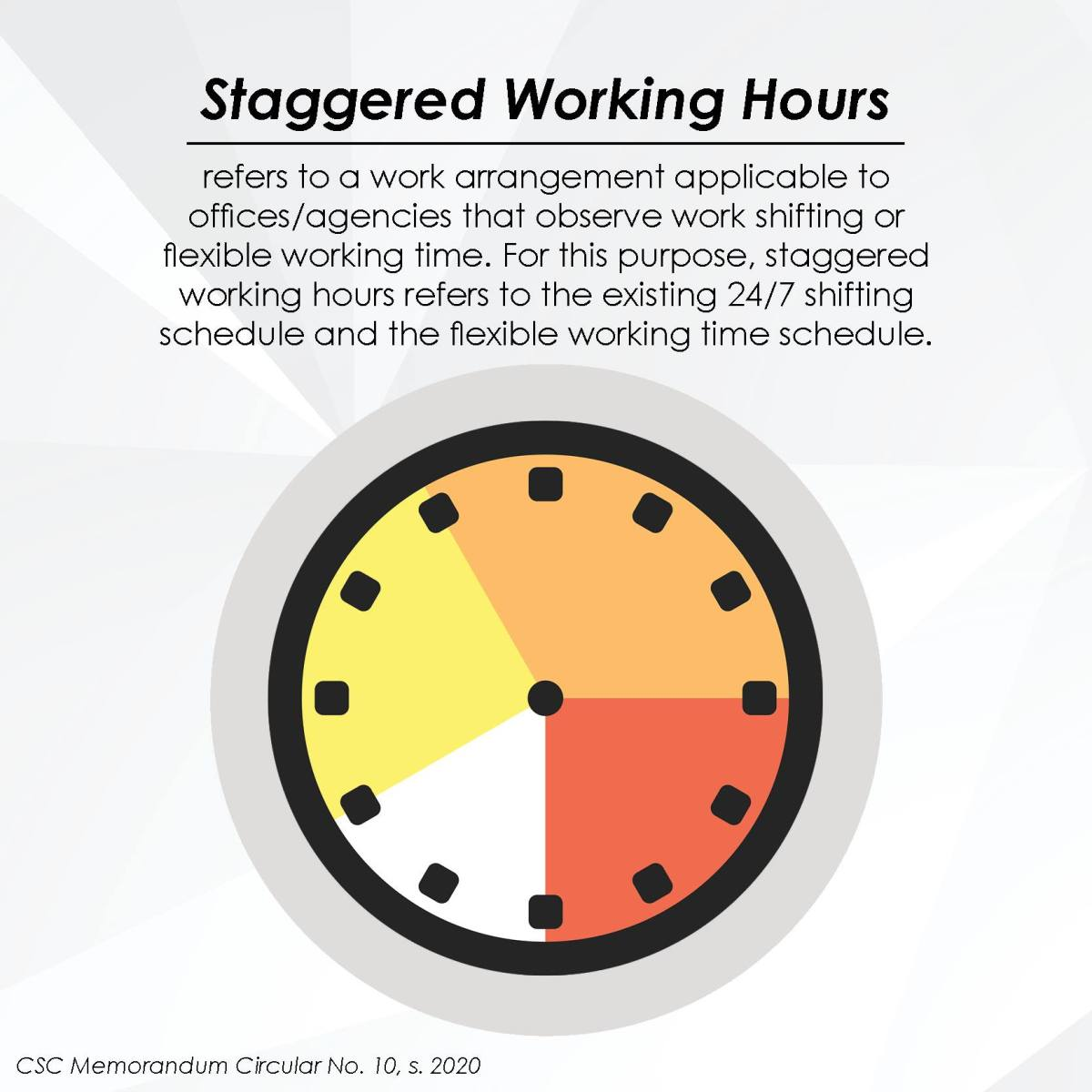 Staggered Working Hours