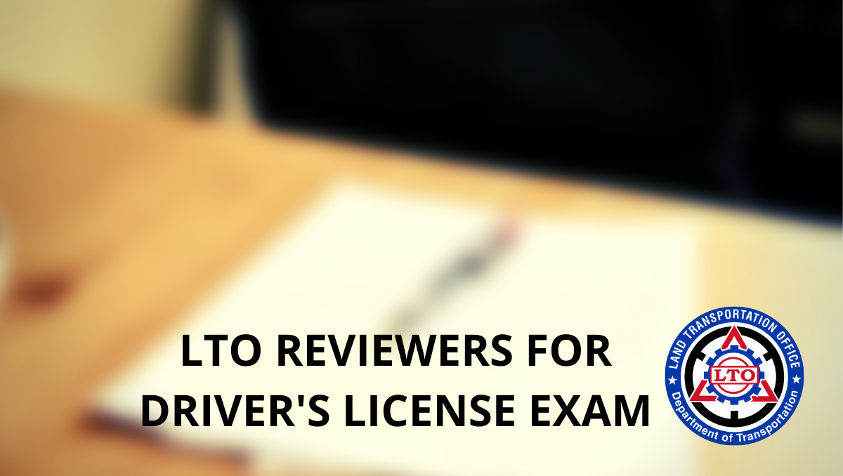 LTO Reviewer for Drivers License Examination
