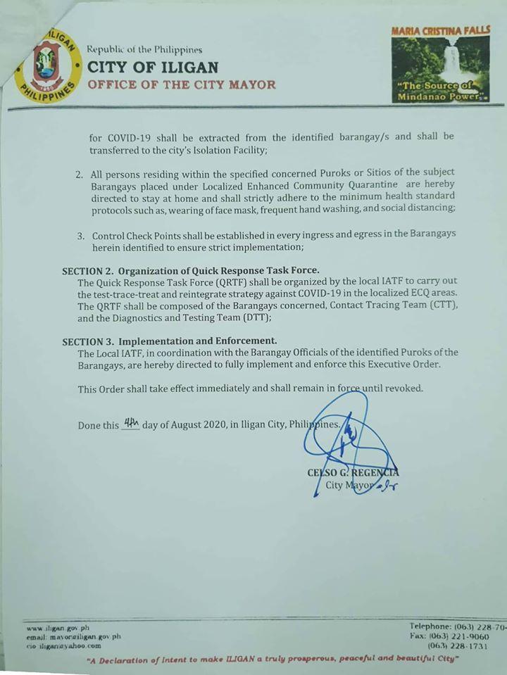 Executive Order No. 87 s. 2020 (2)
