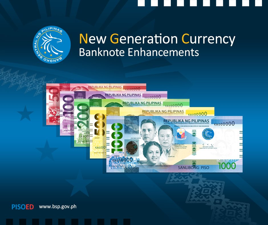 Philippine New Generation Currency
