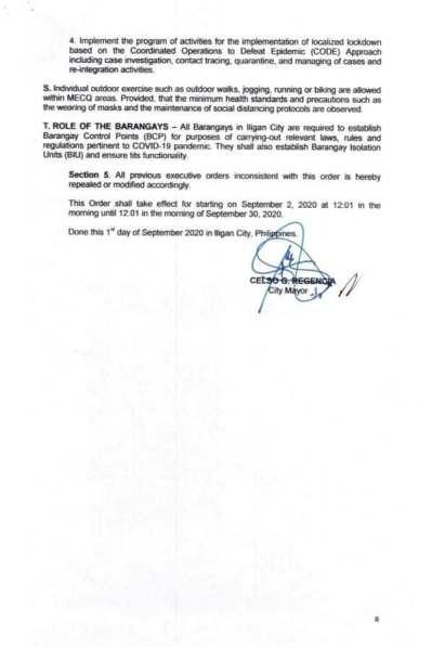 Executive Order (EO) No. 98 (4)