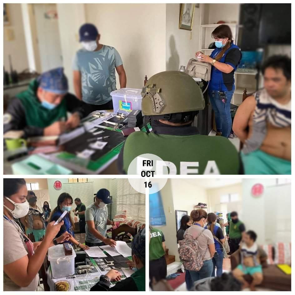 Ex-mayor (Nunungan Lanao Del Norte) Arrested in Cagayan De Oro City Through Search Warrant Several Drugs Seized