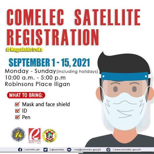 COMELEC Satellite Registration