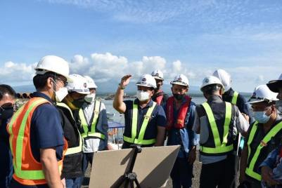 DPWH Works on Foundation of Panguil Bay Bridge (11)