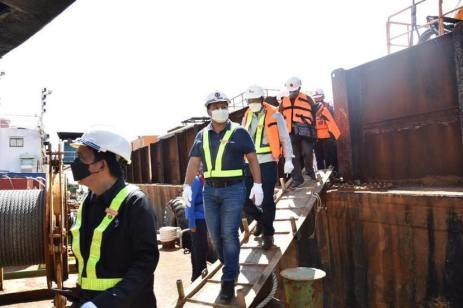 DPWH Works on Foundation of Panguil Bay Bridge (16)
