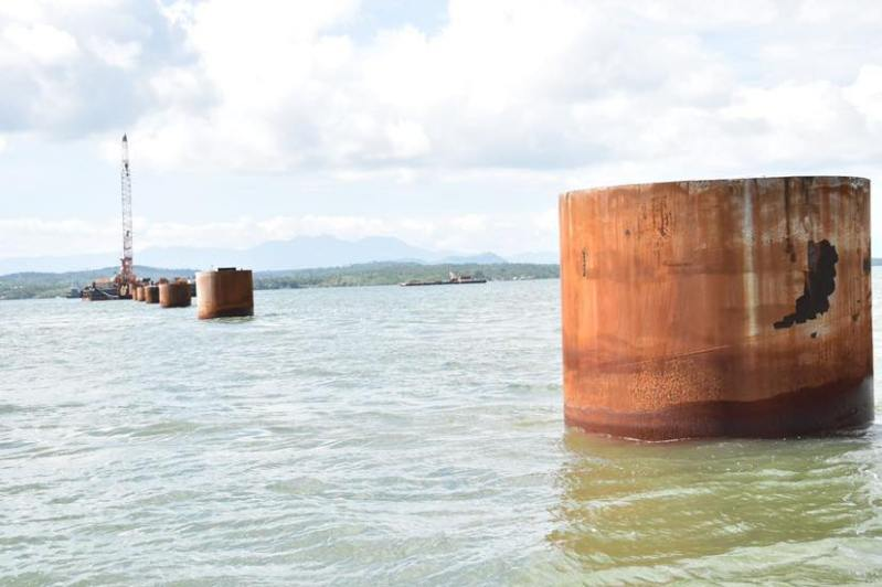 DPWH Works on Foundation of Panguil Bay Bridge (4)