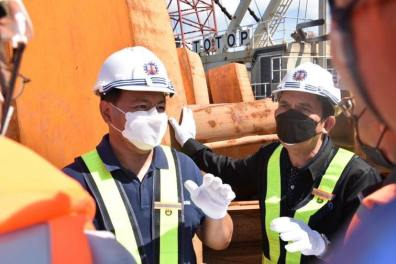 DPWH Works on Foundation of Panguil Bay Bridge (8)