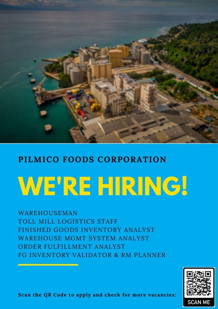 pilmico job hiring