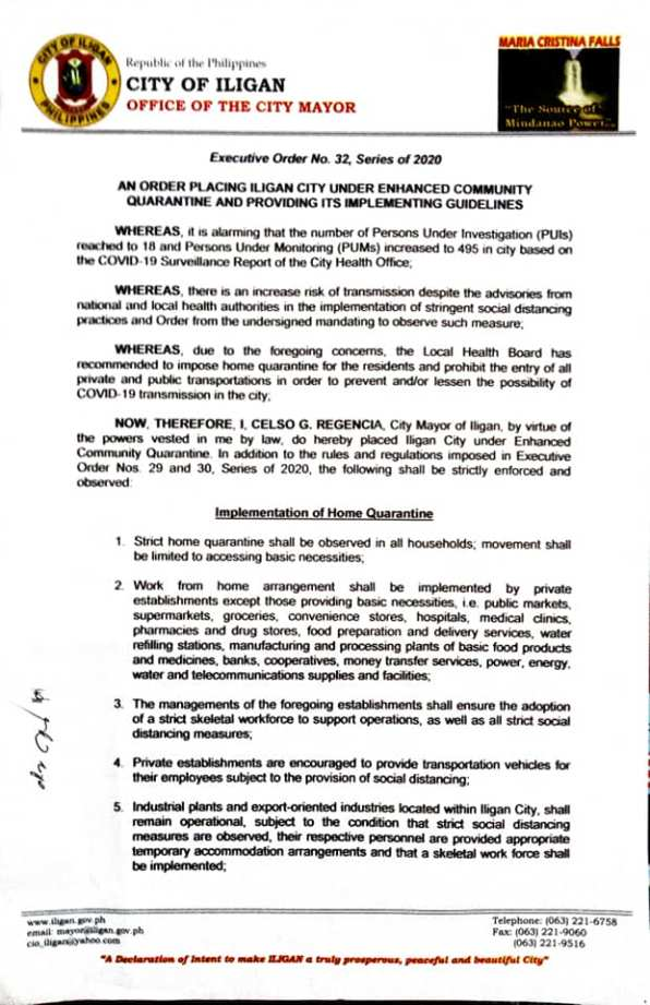Executive Order No. 32