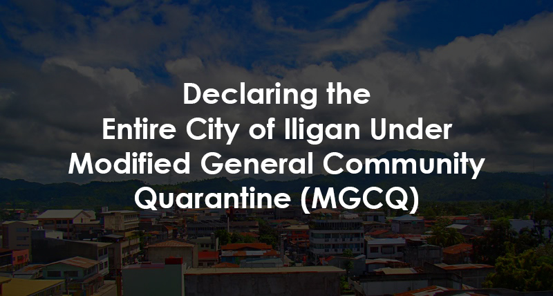 iligan mgcq guidelines