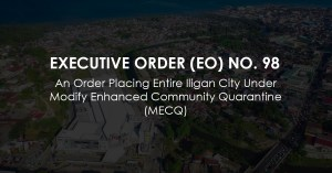 Executive Order (EO) No. 98