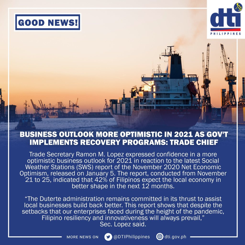 DTI will continue to implement various programs
