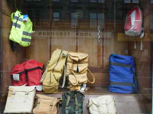 Rucksacks and haversacks, John Ferguson's, Perth