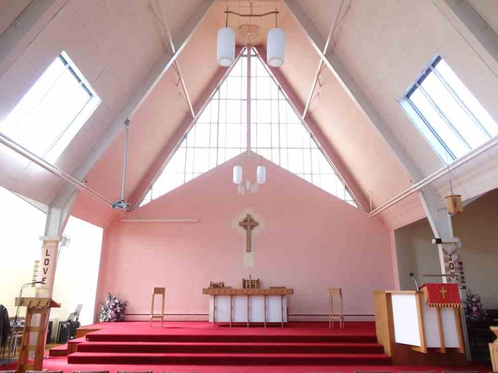 Moncreiff Parish Church, Calderwood, East Kilbride-interior