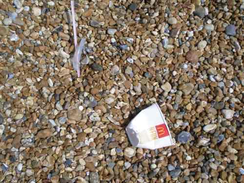 Folkestone beach, Kent