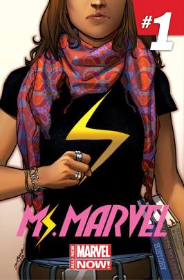Kamala Khan as the new Ms. Marvel is a hot topic these days