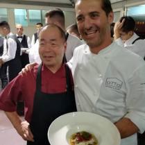 Chef Giappone Hauro Ichikawa e Lorenzo Lavezzari