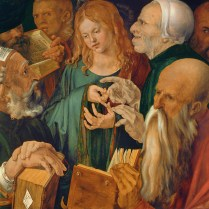 Durer, Albrecht (1471-1528): Jesus Among the Doctors, 1506. Madrid, Museo Thyssen-Bornemisza*** Permission for usage must be provided in writing from Scala.