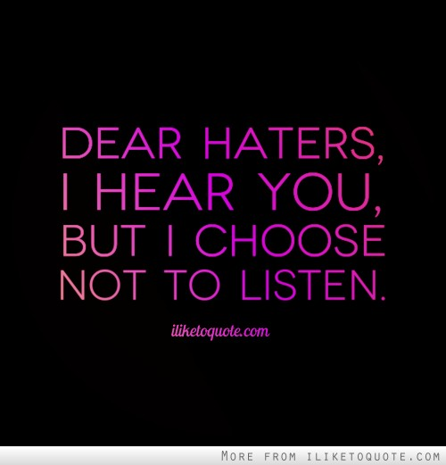 Image result for haters quotes tumblr