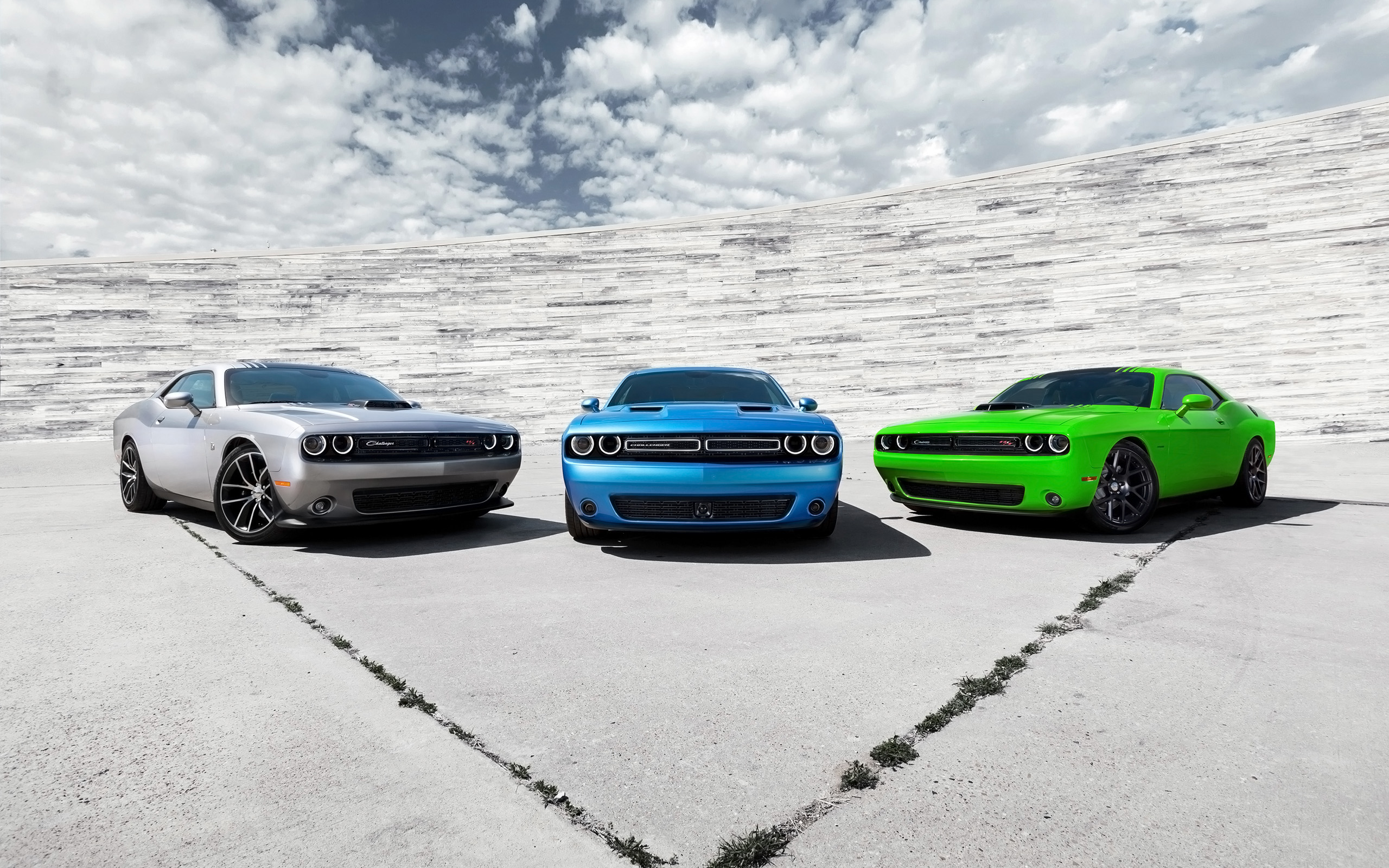Daily Wallpaper  Dodge Challenger Trio   I Like To Waste My Time