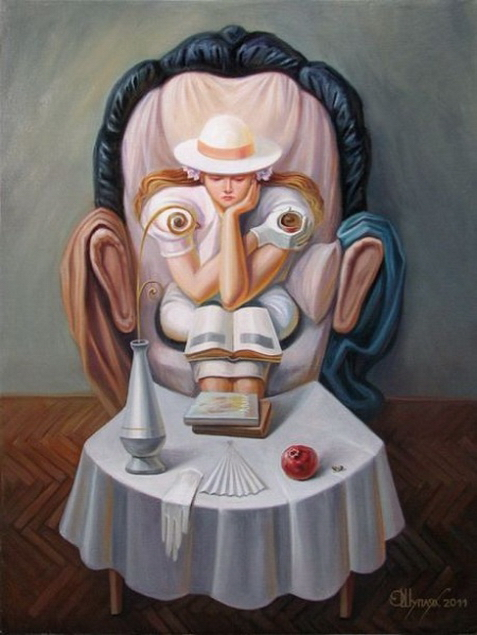 Superb Optical Illusion Art By A Russian Painter I Like