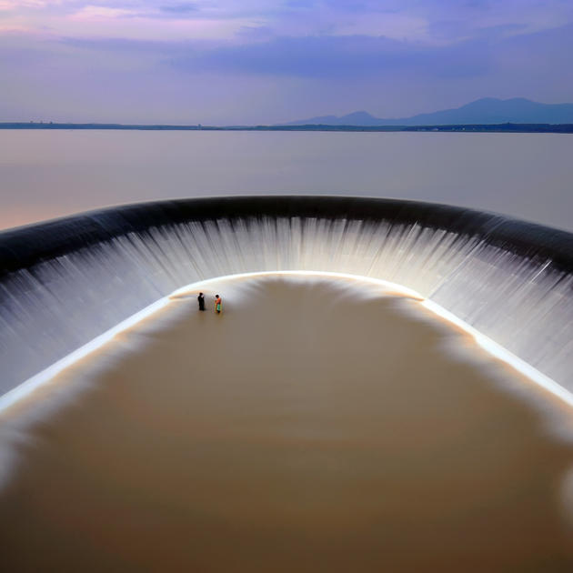 A dam in Rayong, Thailand
