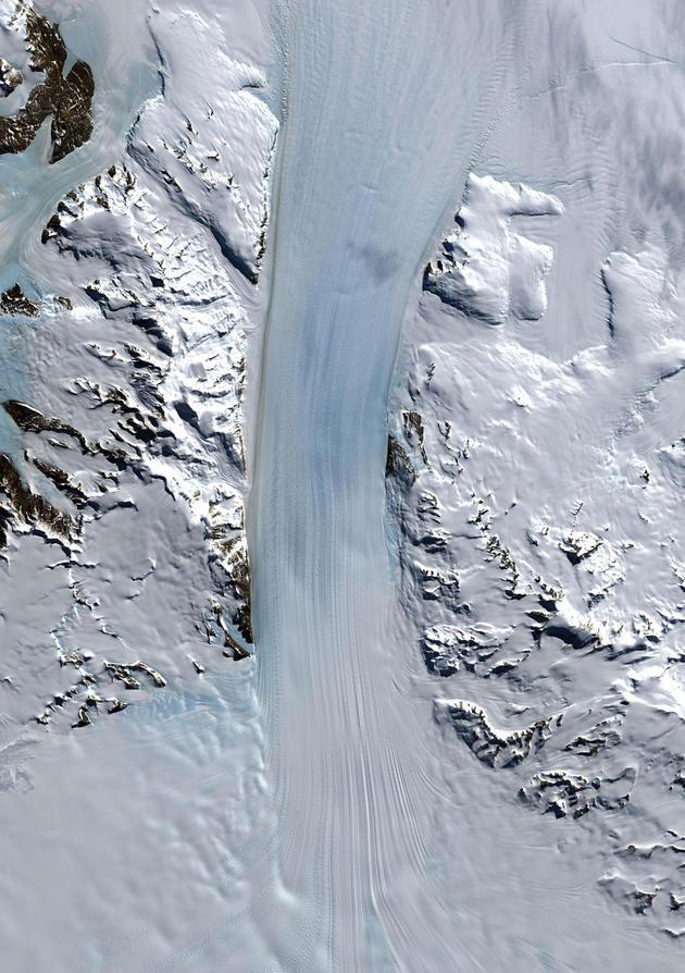 Byrd Glacier, Antarctica
