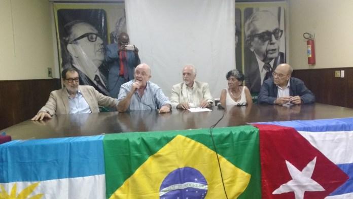 Evento na Associação Brasileira de Imprensa em homenagem a Che Guevara
