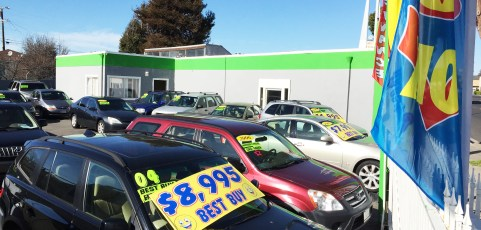 Car Lot with Office Space –  [Sold March 11, 2016]
