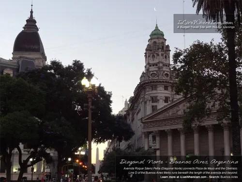 Free Wallpaper - Diagonal Norte, Buenos Aires, Argentina