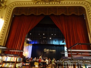 El Ateneo Grand Splendid 7 - Stage Curtain